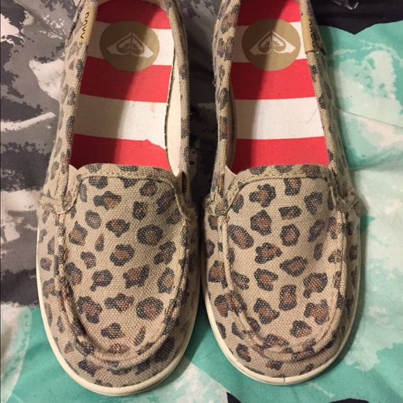 roxy leopard slip on off 51% - www
