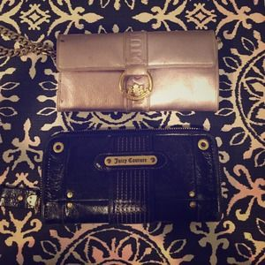 Juicy couture wallet bundle