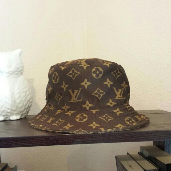 Louis Vuitton Bucket Hat Os From Donna S Closet On Poshmark