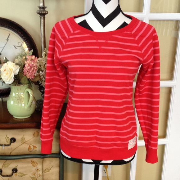 classic outlet boutique exquisite design Old Navy Tops | Red And Pink Striped Top | Poshmark