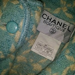 Authentic CHANEL Wool Jacket