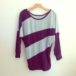 batwing style top