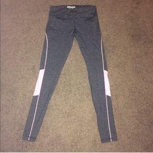 NWOT Forever 21 Yoga Pants full-length Gray/Pink