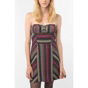 Urban Outfitters Staring at Stars Tribal Dress