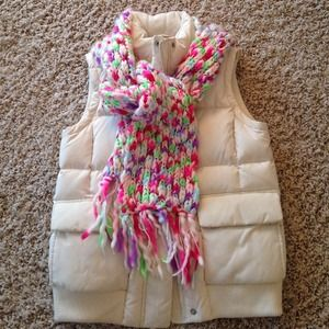 Down filled puffer vest