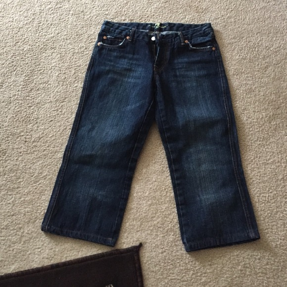 7 for all Mankind - 7 for all mankind Capri jeans new without tags ...
