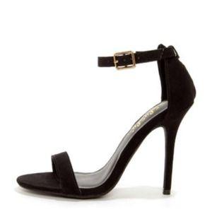 Plain Black Heels | Tsaa Heel