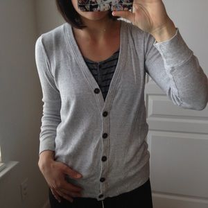 JCREW KNIT BOYFRIEND CARDIGAN