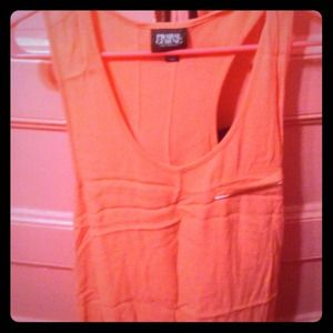 Salmon colored tank top