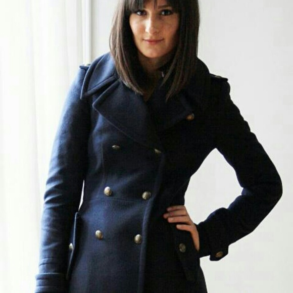 Zara Outerwear - Zara Military Coat Sz: Small