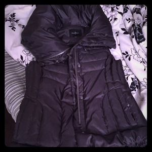 Cole Haan down coat jacket vest