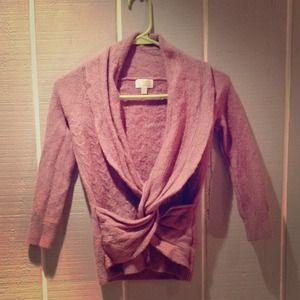 Light purple Cross Sweater