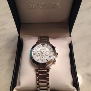 Timeless stainless Steele AUGUST STEINER watch