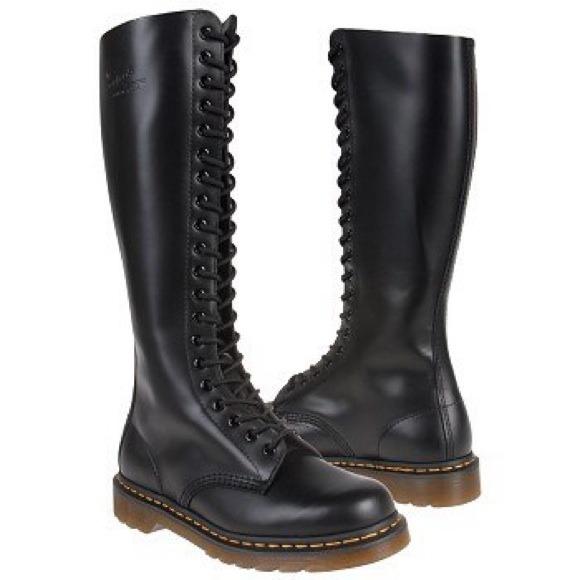 Girls Navy Blue Fashion Boots