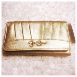 Jessica Simpson Gold Wallet NWT