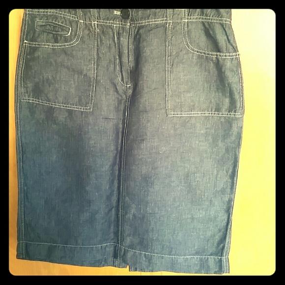 talbots talbots denim jean skirt from kd s closet on