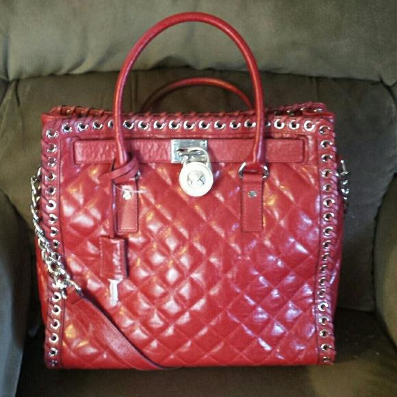 53% off Michael Kors Handbags - Sold. Michael kors hamilton ... : michael kors quilted hamilton - Adamdwight.com