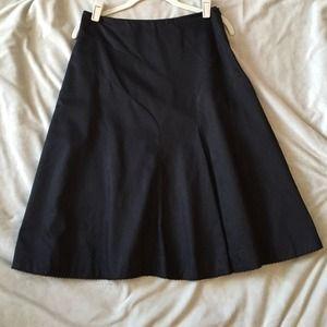 Anthropologie Anthropologie Black Skirt Odille Brand