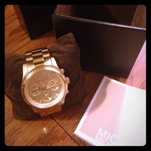 Michael Kors 5055 Gold-Tone Watch