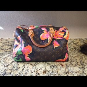 Louis Vuitton Limited Ed. Stephen Sprouse Speedy30
