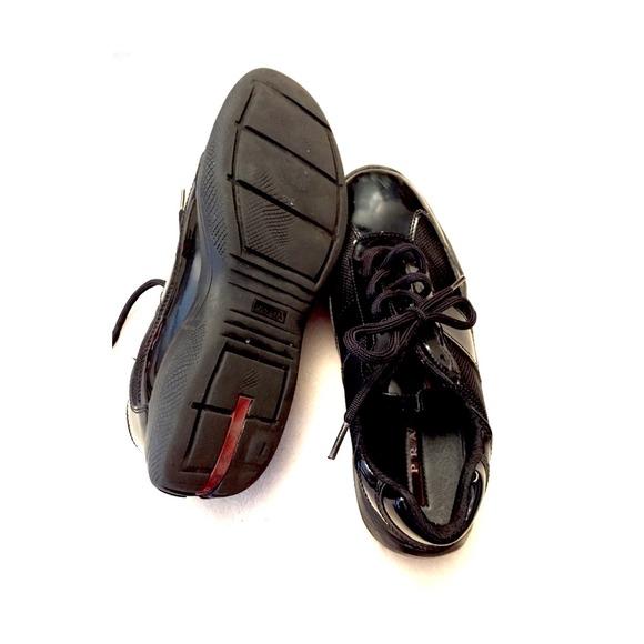 prada women's wallets - 99% off Prada Shoes - FINAL PRICE! Prada America\u0026#39;s Cup Sneaker in ...