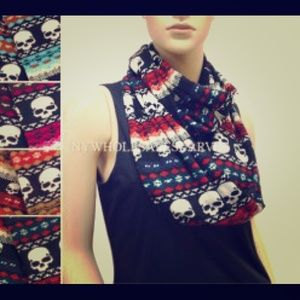 none Accessories - Skull Scarves