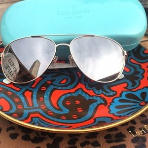 kate spade Accessories - Mirrored Kate Spade Aviators