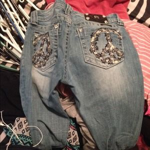 Miss me jeans light washed size 28