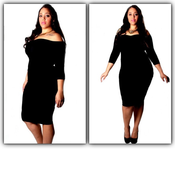 Independent Dresses Plus Size Off Shoulder Bodycon Dress 1x Poshmark