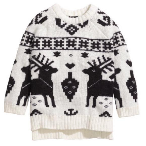 70% off H&M Sweaters -      ⚡️SOLD      [H&M] Oversized Fair ...