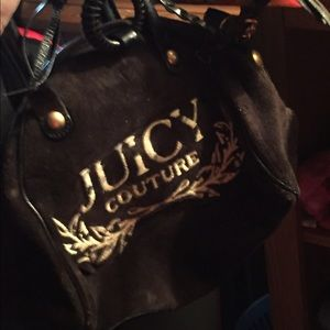 "Juicy Couture ""bowler"" purse"
