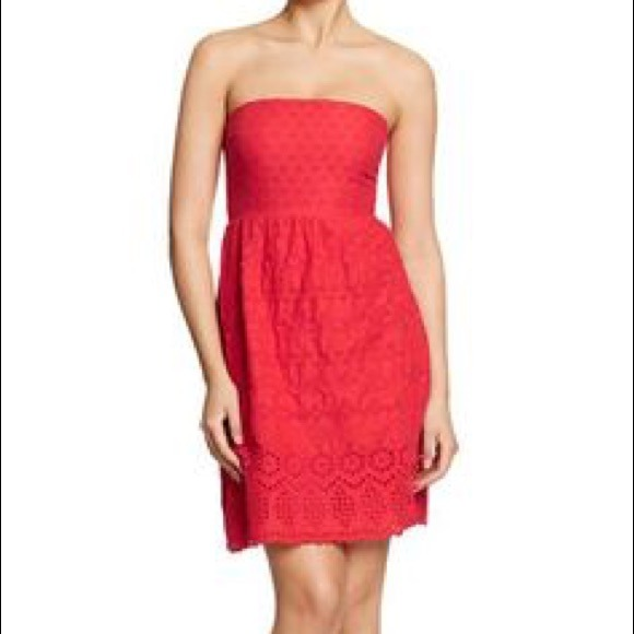 79% off Old Navy Dresses &amp- Skirts - Bright Coral Strapless Old ...