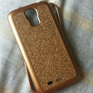 Gold Case Mate for Samsung Galaxy S4