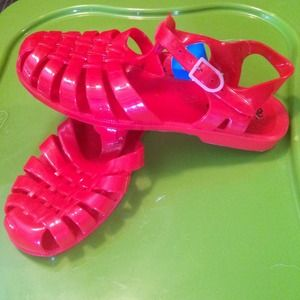 Jelly beans Shoes - Red Jelly beans sandals shoes