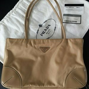 how to tell a fake prada handbag - 87% off Prada Handbags - Prada Bufalo Easy Bag from Maryann's ...