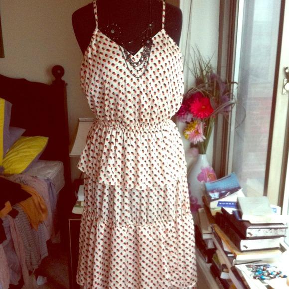 826dd1a0bd86 H&M Dresses | Bundled Hm Tiered Long Pattern Dress | Poshmark