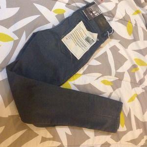 Neuw Skinny Crop Jeans Titanium