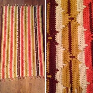 Accessories - Earth tones Afghan
