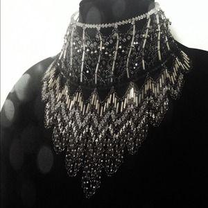 Erickson Beamon Jewelry - Erickson Beamon Swarovski crystal waterfall choker