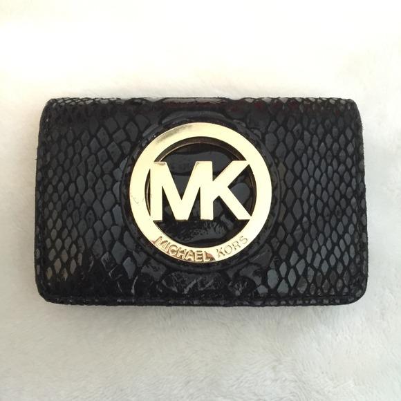 Michael kors bags coin or business card holder poshmark michael kors coin or business card holder colourmoves