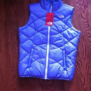 North face reversible vest