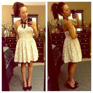 Rodarte for Target Dresses & Skirts - Gorgeous Rodarte Floral Halter Dress