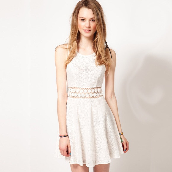 20% off Free People Dresses & Skirts - Free People Lace Daisy ...
