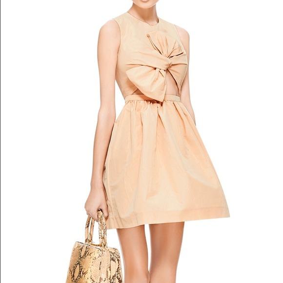 Carven Dresses | Sold Pink Bow Valentines Day Dress | Poshmark