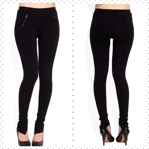 black leggings pants - Pi Pants