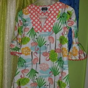 Mudpie 3T swim suit cover up