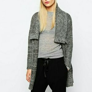 MNG Oversized Knitted Cardigan