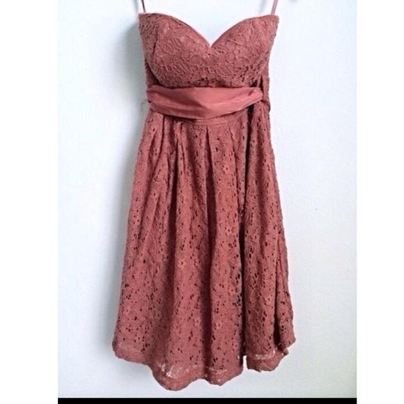 Rustic Strapless Dresses