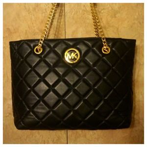 Michael Kors Large Fulton Quilted Tote NWT