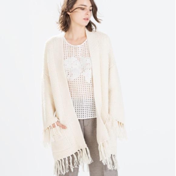 Zara Cardigan Sweater 30